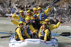 whitewater rafting near Calgary