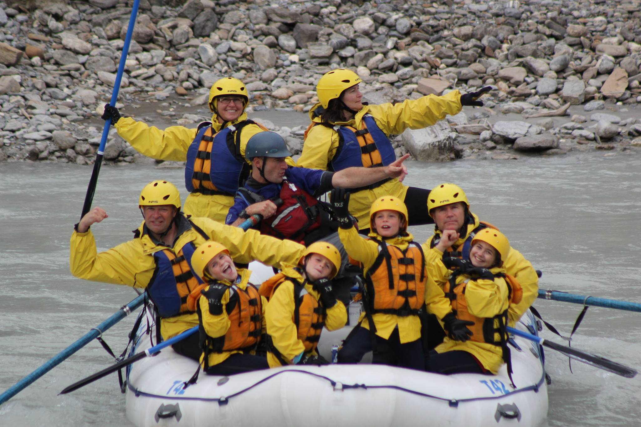 Mother's Day Rafting In Banff